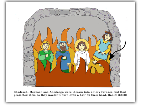 Shadrach, Meshach and Abednego | King's Kid Stuff