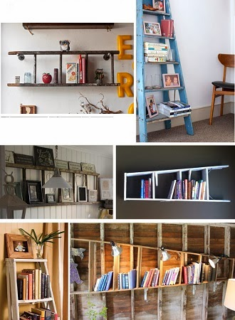 Ideas Para Reciclar Escaleras en Casa