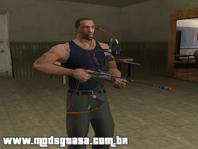 Arco e Flecha - Absolute Force Bow para GTA San Andreas