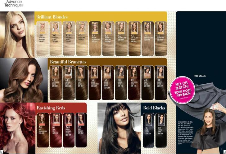 Avon Canada - Montreal.: Advance Technique Professional Hair Color ...