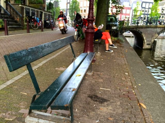 The Fault in our Stars Bench // Amsterdam