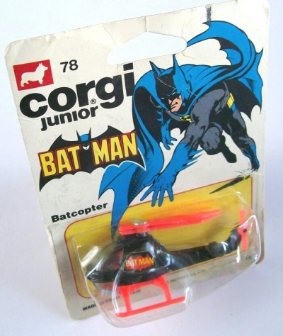 Corgi Junior 1978 Batcopter