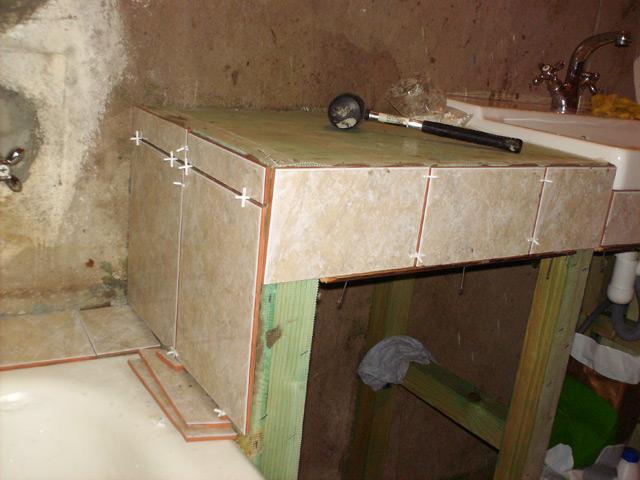 Тумба под раковину комнаты своими руками 163