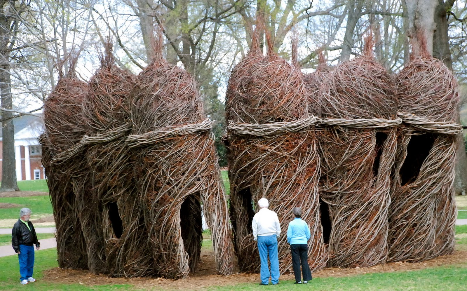 THOUGHT FOR FOOD MEDIA: Patrick Dougherty-Stickworks Artist