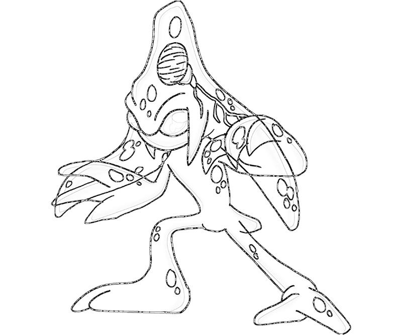 Sonic Generations Chaos Sketch Coloring Pages title=