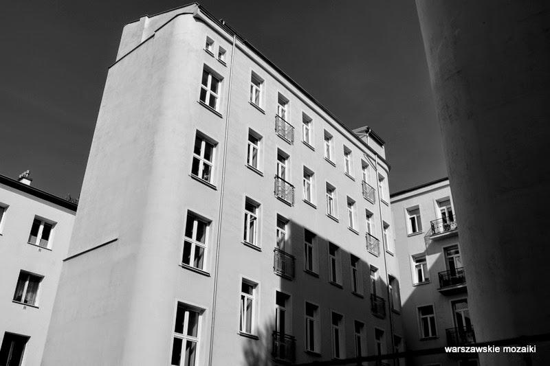 oficyna podwórko kamienica Tomasza Lisowskiego Warszawa Wola zabytek