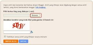 Memindahkan Seluruh Isi Blog Ke Blog Lain