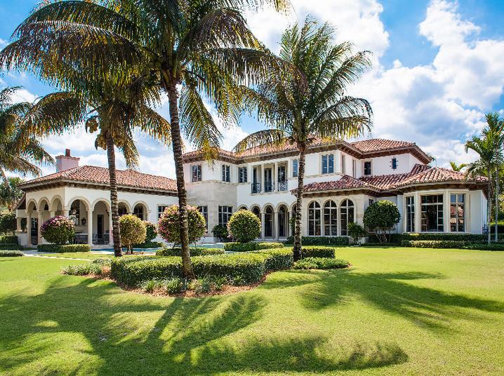 Bella Vita A 665 Million Mediterranean Mansion In Palm Beach Gardens FL