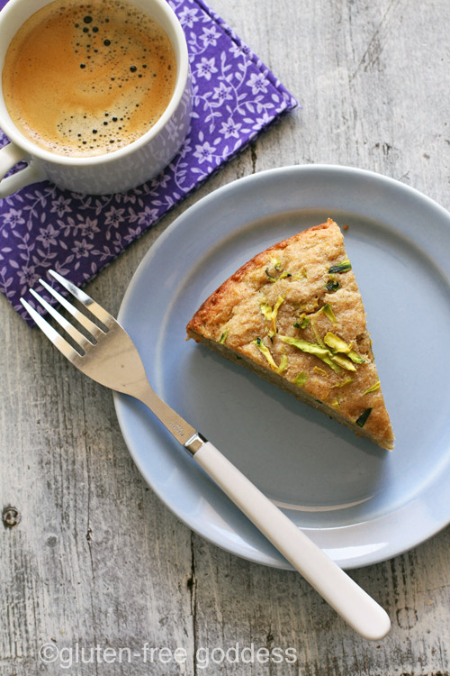 Gluten-Free Goddess Zucchini Quinoa Breakfast Cake