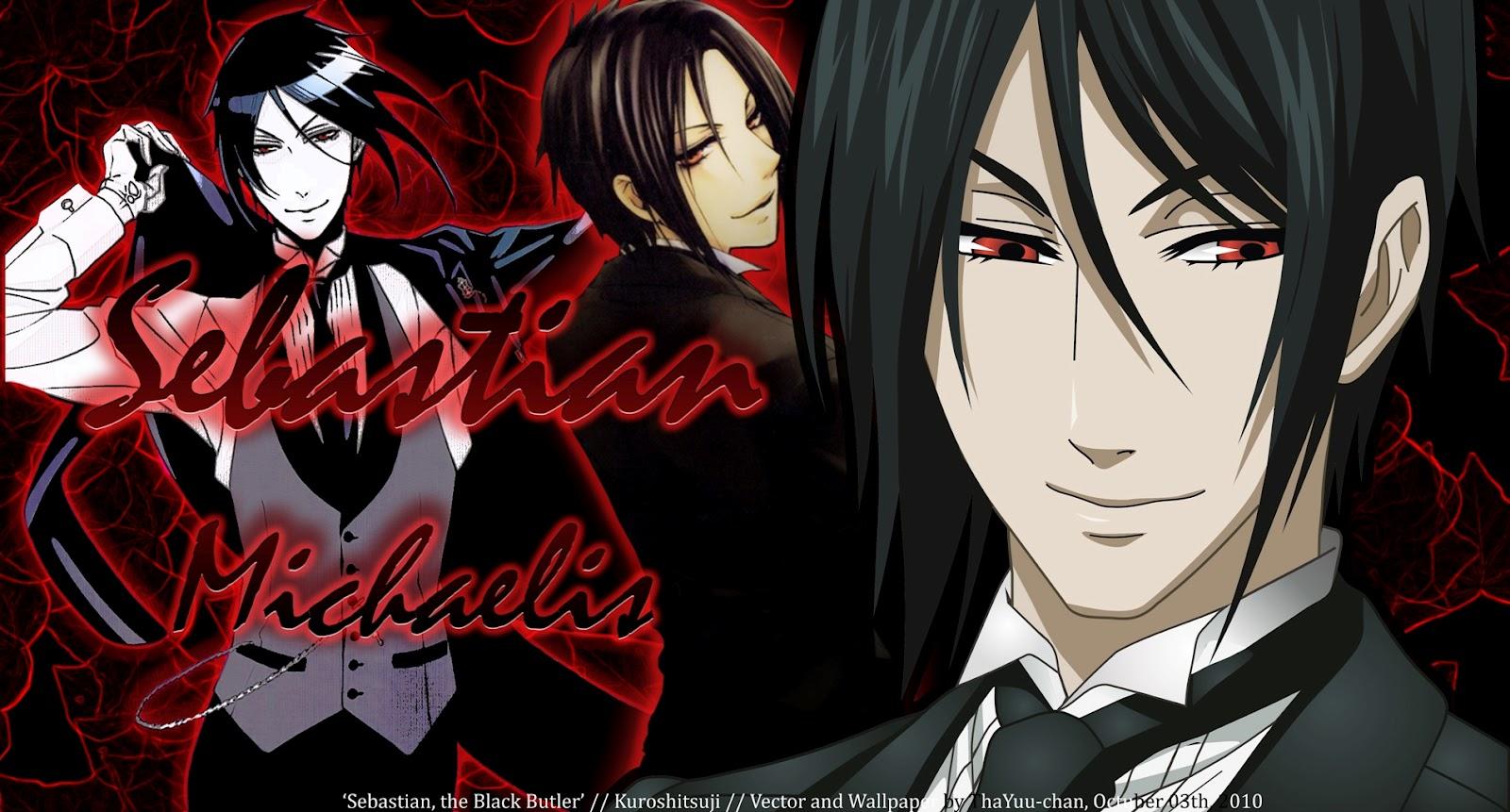 Black Butler Cosplay: Black Butler Sebastian Michaelis