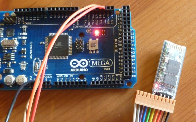 Hart gelötet jy mcu bluetooth modul am arduino