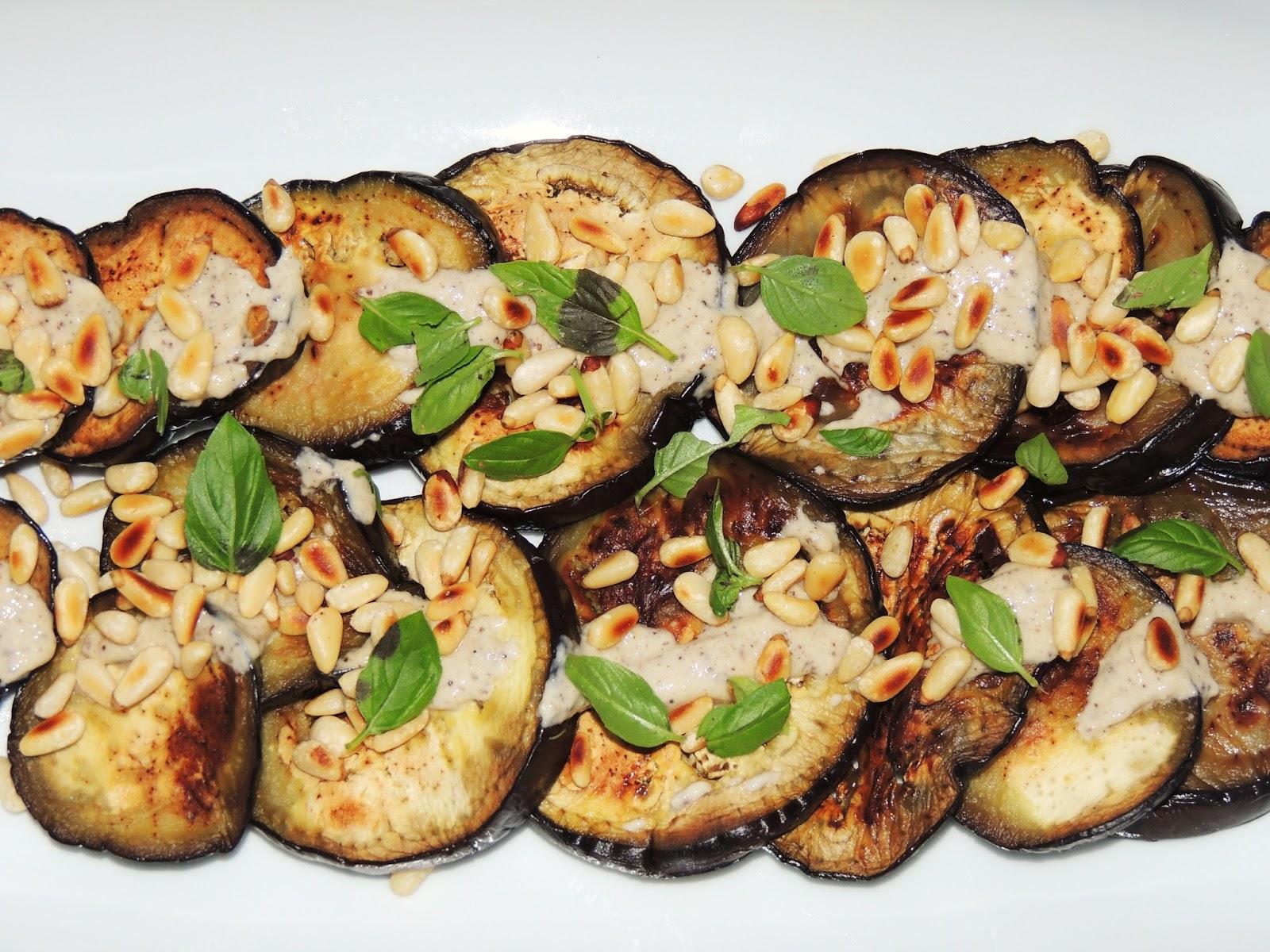 Midi cuisine aubergines grill es la plancha pignons et for Cuisine 0 la plancha