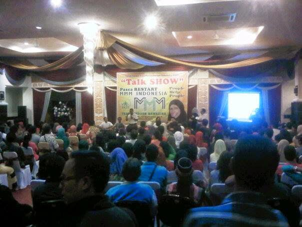 Talk Show Pasca Restart MMM Mavrodi Indonesia Oleh Bunda Firdaus Bawazier Di Pangkalanbun Kalimantan Tengah