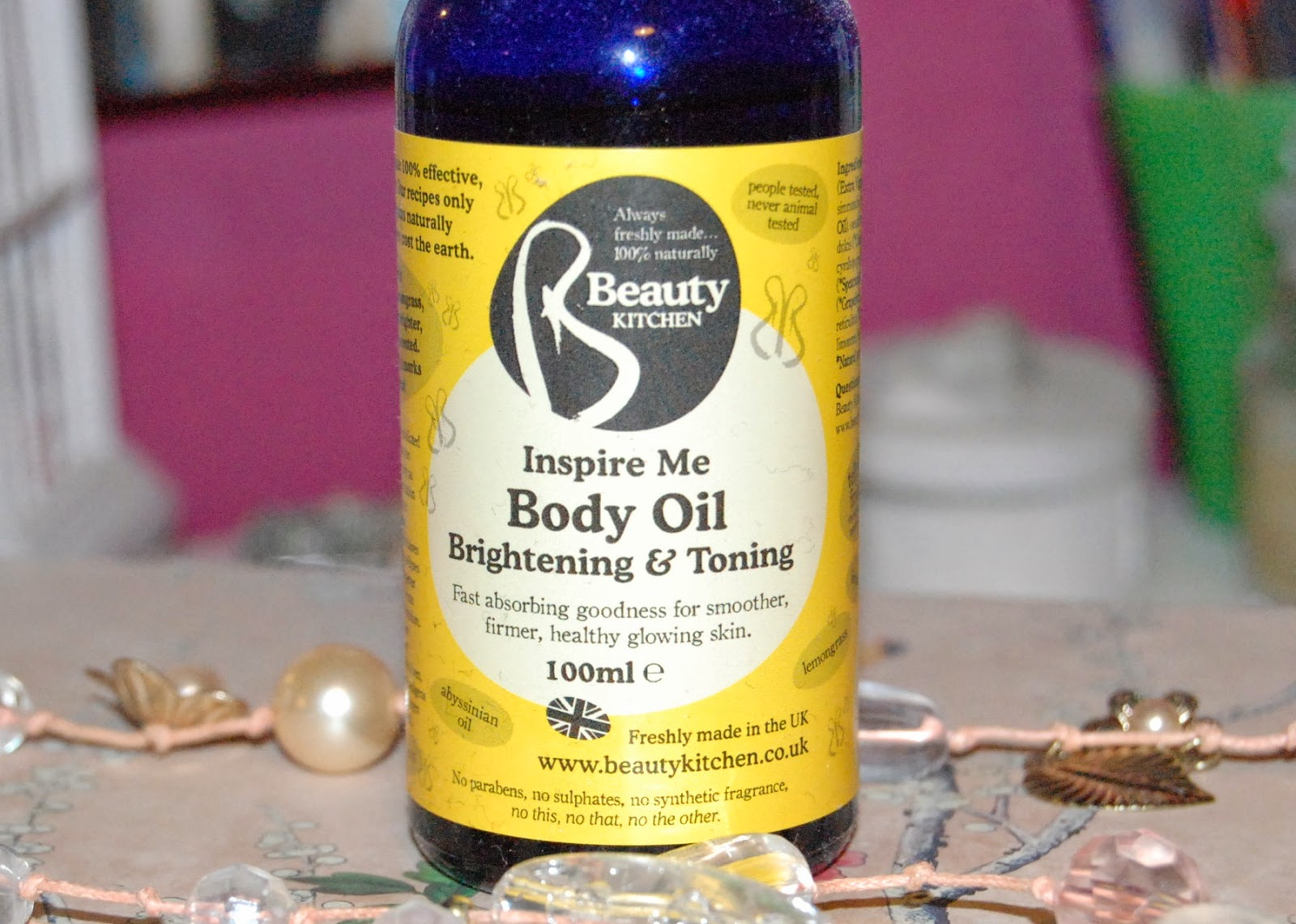 Beauty Kitchen Body Oil