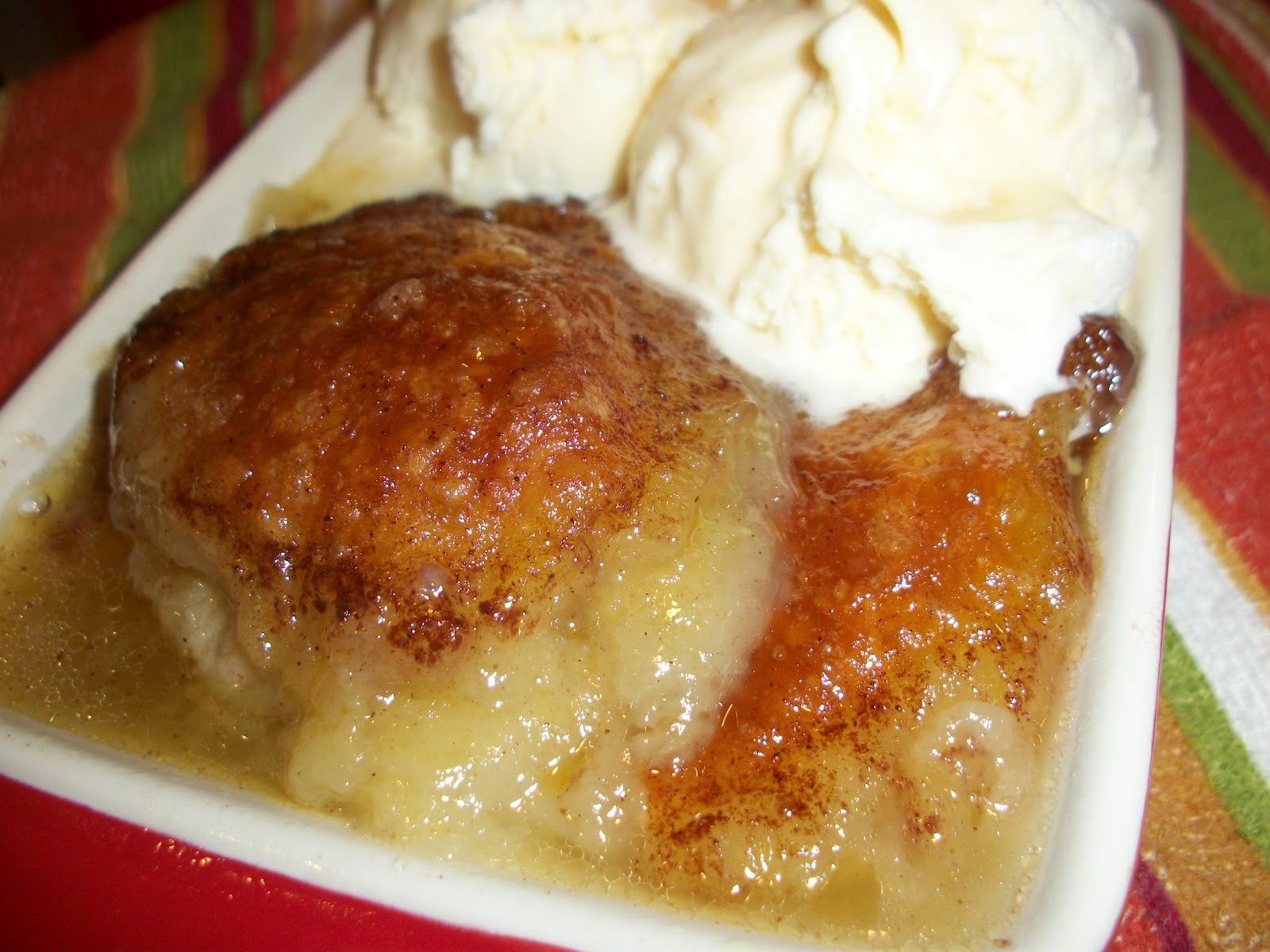 rum sauce pennsylvania dutch apple dumplings apple dumplings with rich ...