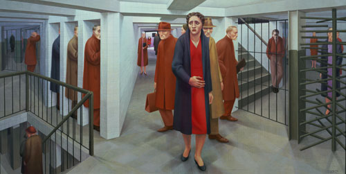 The Liberal Curmudgeon: Remembering George Tooker, Painter Of ...