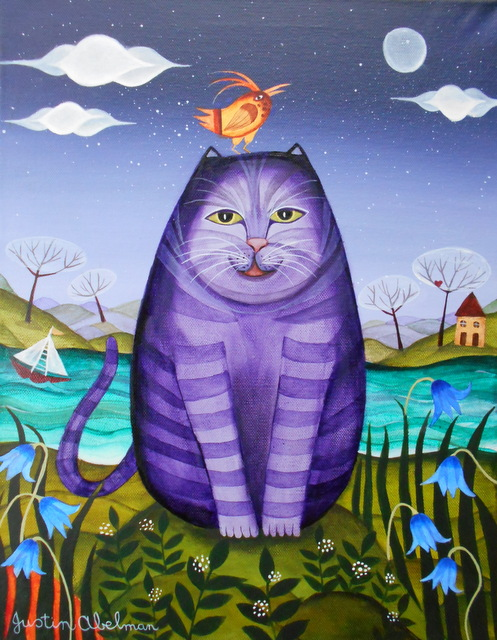 The Purple Puddytat