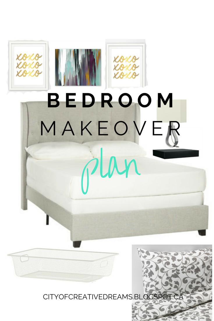 master bedroom decor plan