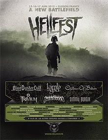 Primeras bandas confirmadas para el HellFest 2012