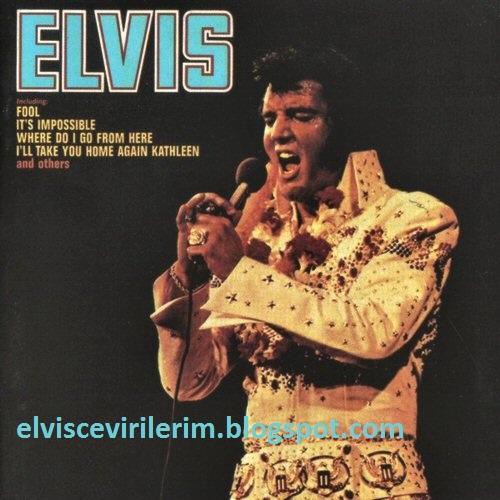 Elvis Presley Ark Evirileri Elvis Presley It 39 S Impossible Ark Eviri