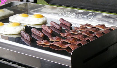 Griddle Q gas grill