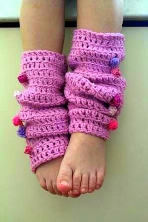 Crochet Pattern: Ridged Leg Warmers - Crochet Spot   Blog