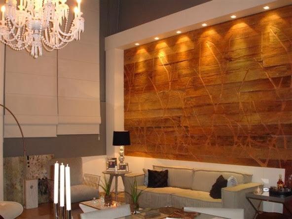 Porcelanato com efeito de madeira desfrute desse recurso for Forrar paredes barato