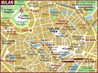 Mappa Politica di Milano