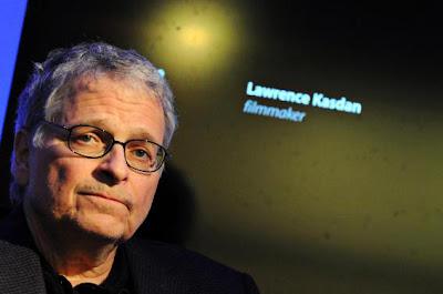 Lawrence Kasdan, director o filmmaker de ¡Por fin solos!, con Diane Keaton y Kevin Kline