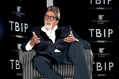 Amitabh Bachchan Launch of  'The Big Indian Picture'
