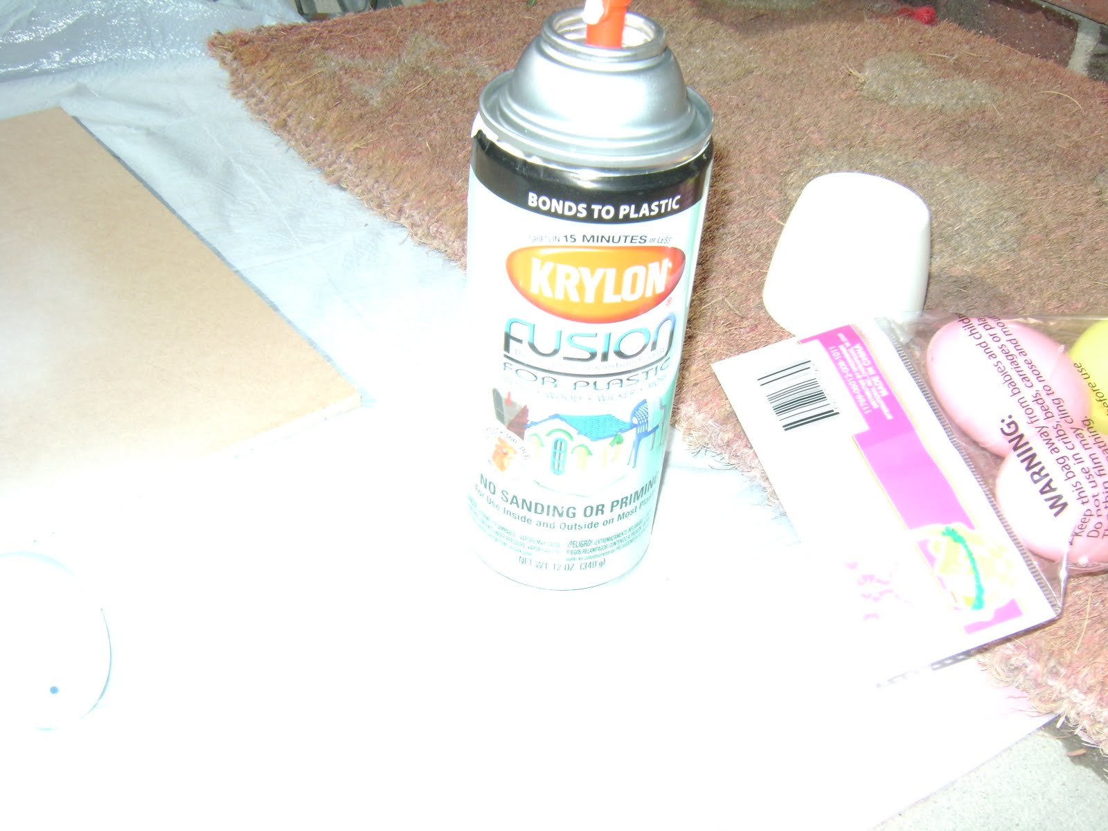 then you will need to get some plastic spray paint from krylon it is. Black Bedroom Furniture Sets. Home Design Ideas