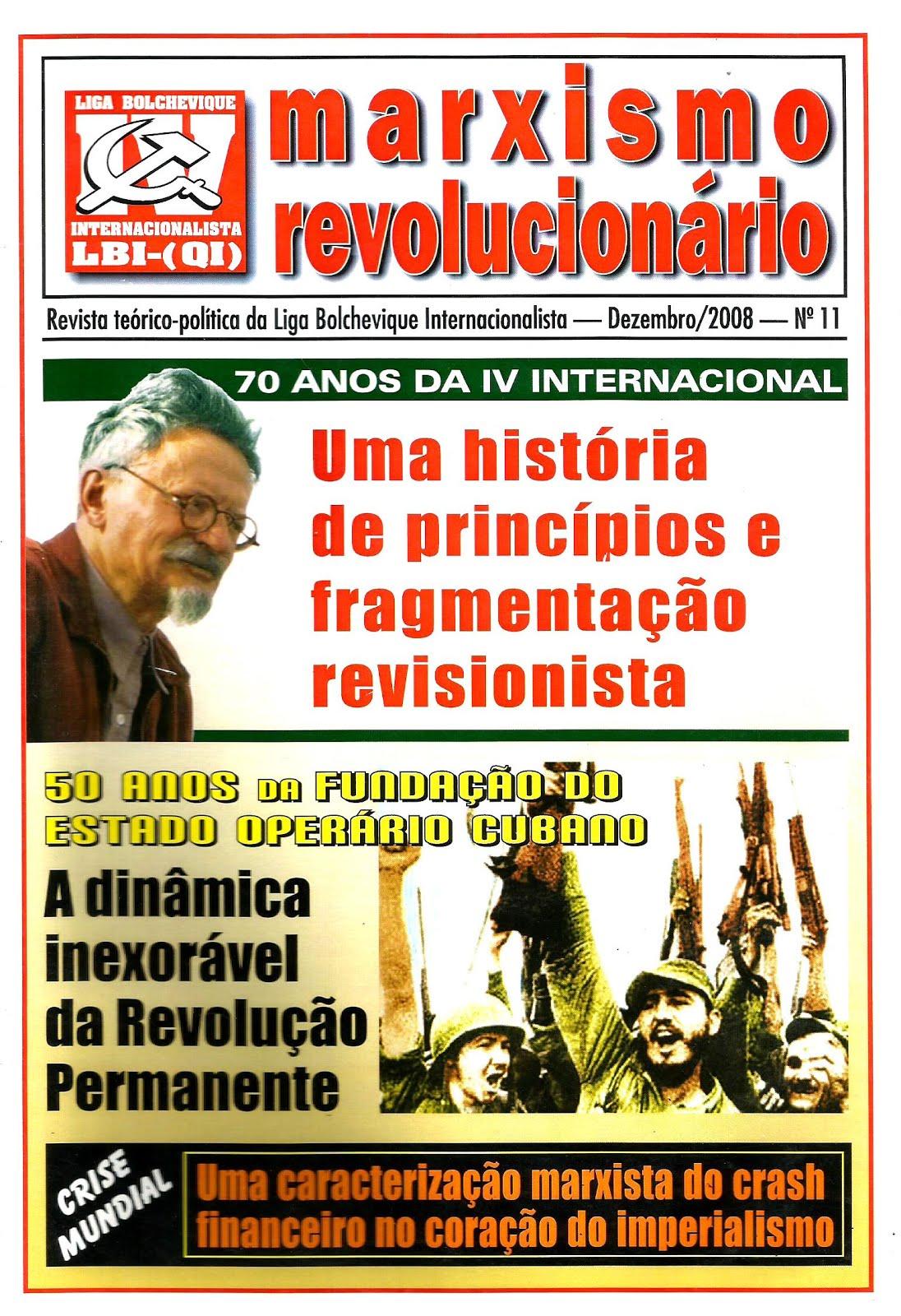 REVISTA MARXISMO REVOLUCIONÁRIO