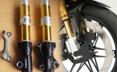 Tips dan Cara Memperbaiki Suspensi Depan Sepeda Motor