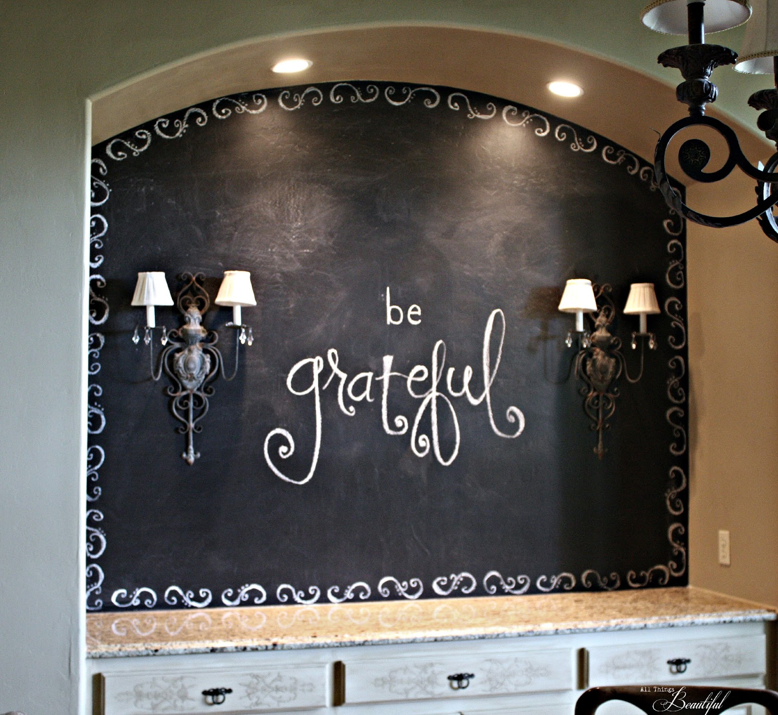 There Are Lots Of Chalkboard Paints Out Now,