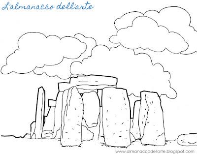 L 39 almanacco dell 39 arte arte preistorica - Arte celtica colorare le pagine da colorare ...