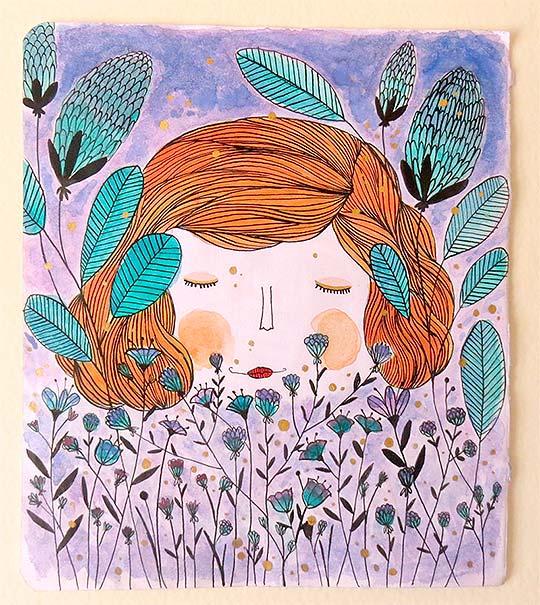 Ilustración de Elizabeth Peña aka Eliblue