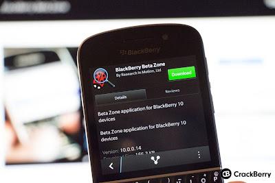 """OTA Descargas para BlackBerry 10 ya está disponible para BlackBerry 10, Está aplicación es llamada """"BlackBerry Beta Zone"""", que está disponible en BlackBerry World, raro ¿no? Bueno, está aplicación permite una característica muy solicitada para BlackBerry 10. Con esta aplicación tienes la capacidad para descargar aplicaciones OTA """"Over-The-Air"""", que nos ahorra a los usuarios una gran cantidad de tiempo para no tener que realizar la carga de una aplicación mediante la pc. Si tienes configurado en tu cuenta de Beta Zone que posees un BlackBerry 10 el correo con la invitación no tardara mucho en llegarte. Para más información dirígete"""