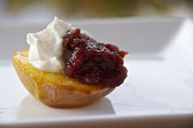 see you in the morning: ginger plum applesauce