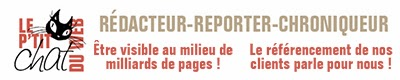 Rédacteur contenu Web - Newsletter, blog...