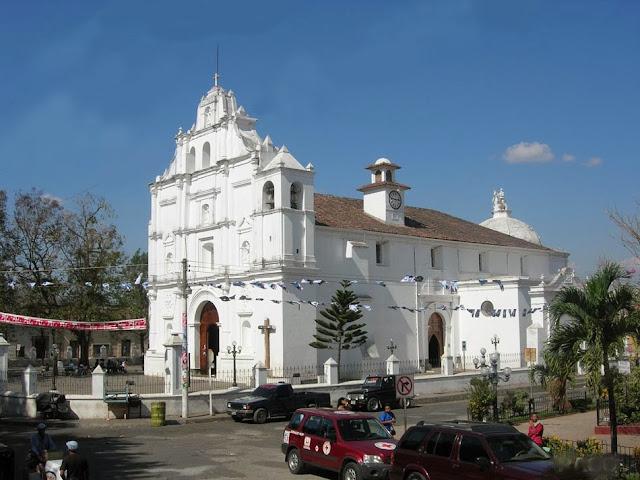 La Iglesia de Chalchuapa, Santa Ana