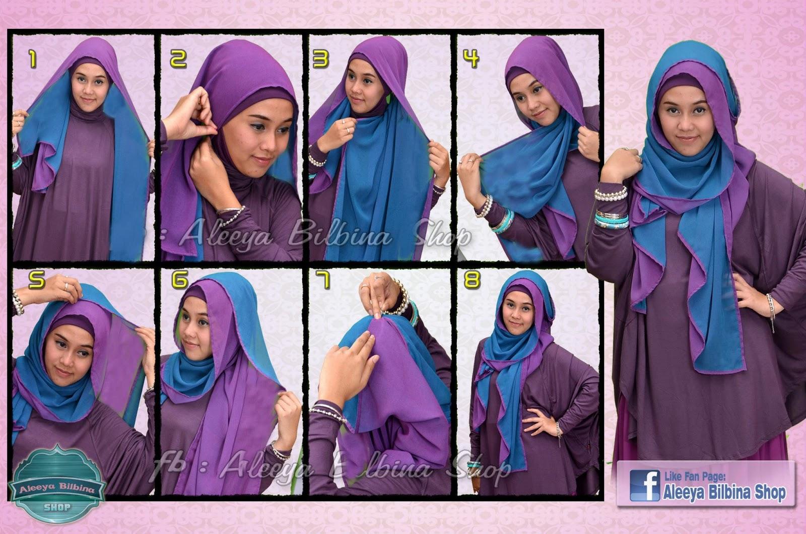 Tutorial Memakai Jilbab Hijab Modis Pashmina