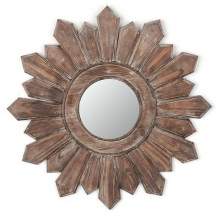 Kirkland's Poconos Wooden Wall Mirror