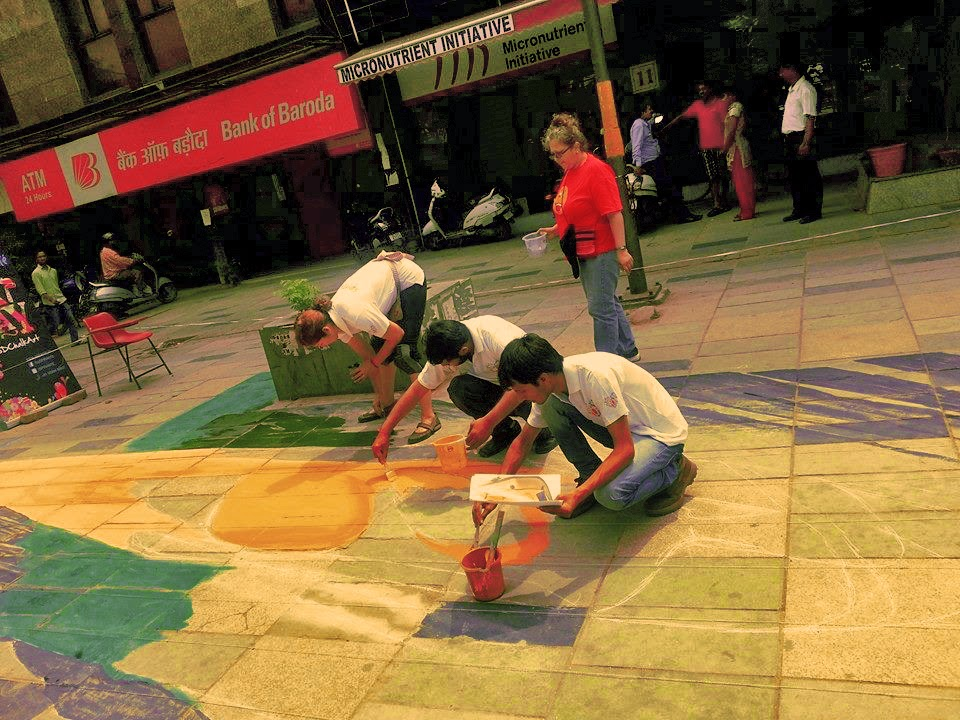 3d anamorphic painting India,3d artist india,3d Chalk art india,3d chalk artist India,3d chalk painting India,3d painting india,3d street painters india,3D street painting India