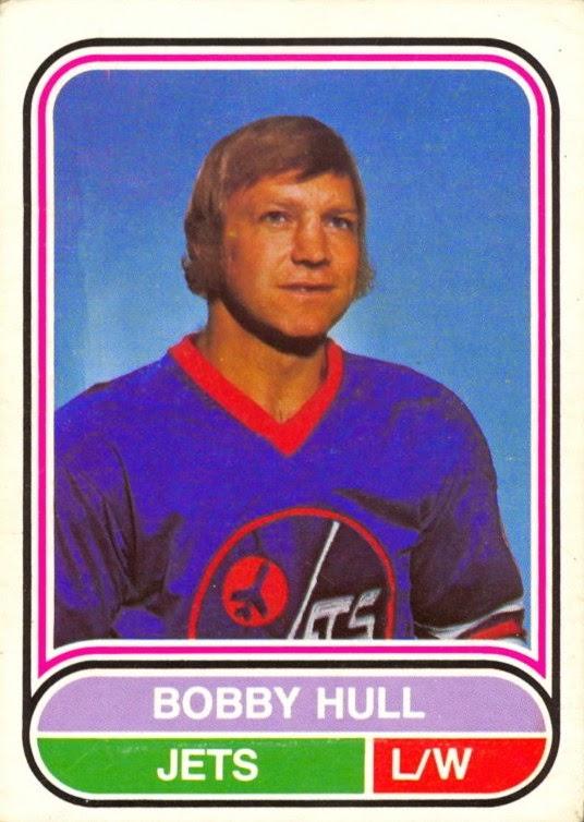 bobby hull winnipeg jets 1975-76 o-pee-chee wha