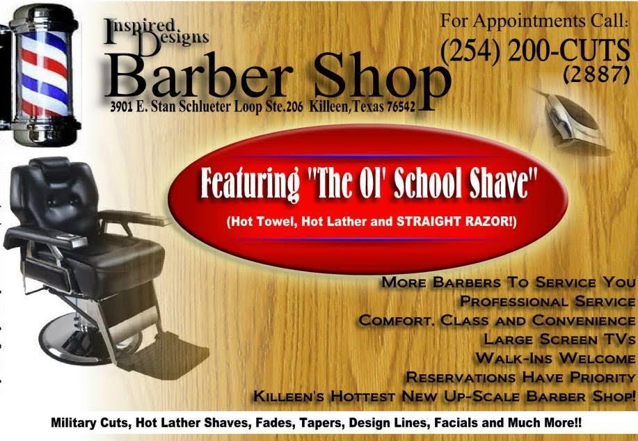 Inspired Designs Hair Salon & Barbershop (Killeen, Texas)