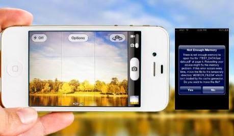 Ενα κόλπο για να μη γεμίζει ποτέ η μνήμη του iPhone