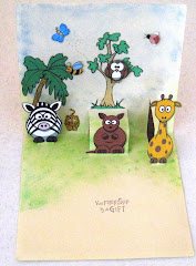 ANIMAL POP UP CARD
