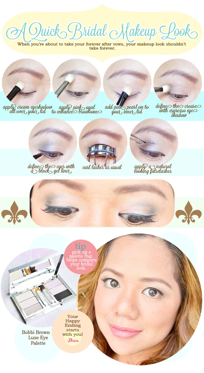 The Makeup Look A Quick Bridal Eye Makeup Tutorial Shen S Addiction