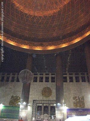 Ornamen Masjid Istiqlal