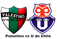 U de Chile vs Palestino 2012 directo